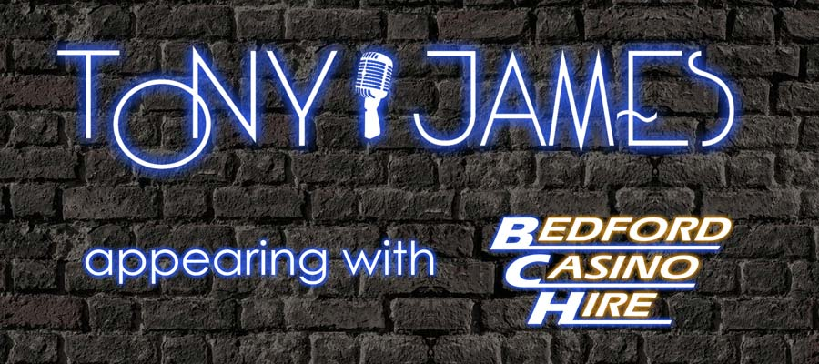 Tony James with Bedford Casino Hire
